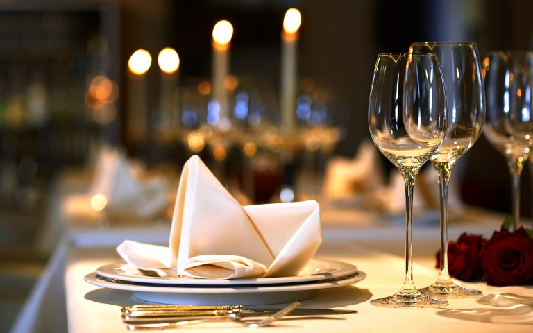 Romantic 4 Course Candle Light Dinner at $88.00++ per person