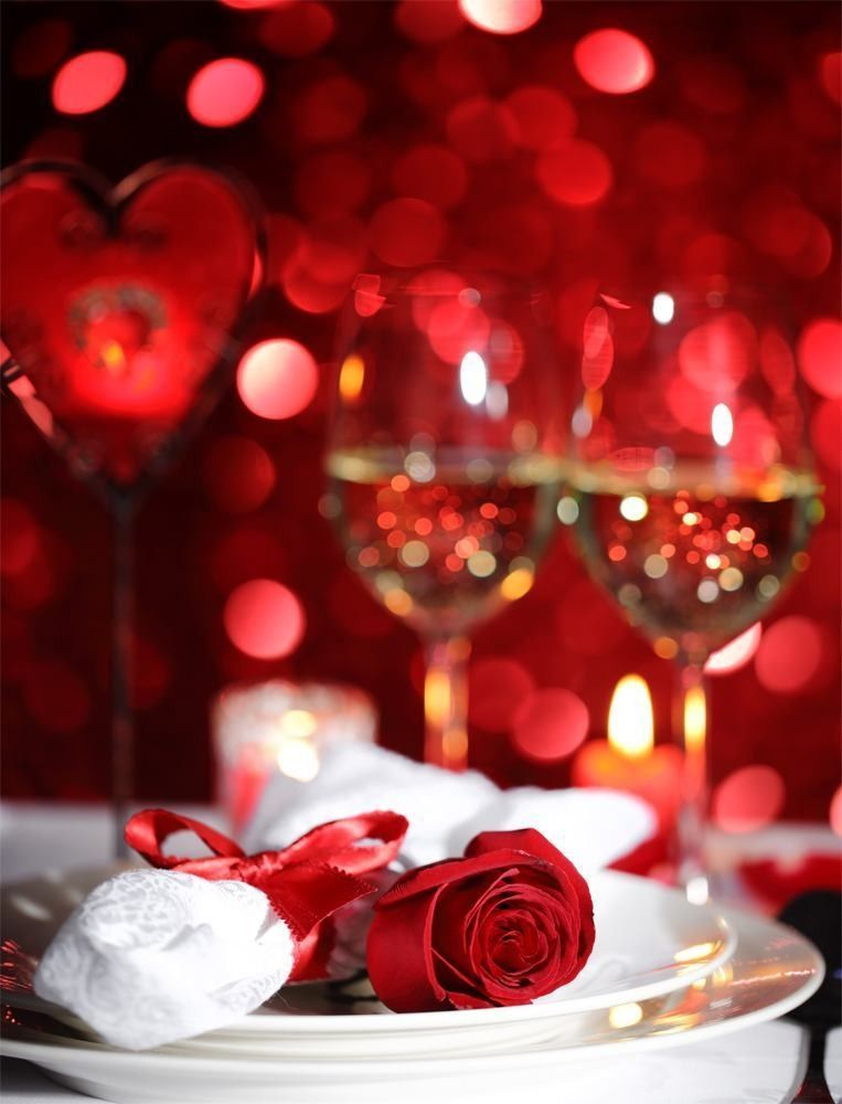 Romantic 4 Course Valentine's Candle Light Dinner
